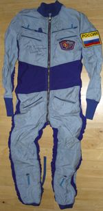 # h046 MIR-25 flown Pinguine suit of Nikolai Budarin